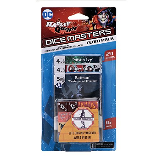 Wizkids Games Harley Quinn Team Pack: DC Comics Dice Masters - English