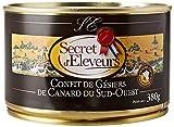 Secret d'Eleveurs Gésiers Confits de Canard du Sud Ouest 380 g