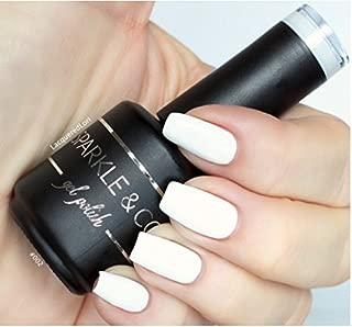 Sparkle & Co. Gel Color 002 White Soak Off UV/LED Gel Nail Polish 15ml