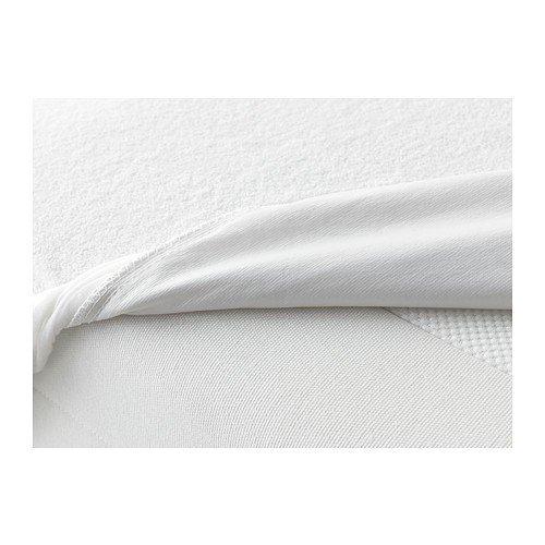 IKEA GÖKÄRT Matratzenschutz in weiß; (160x200cm)