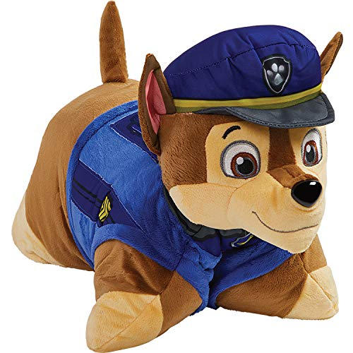 Pillow Pets Nickelodeon Paw Patrol Sleeptime Lites – Chase Plush Night Light