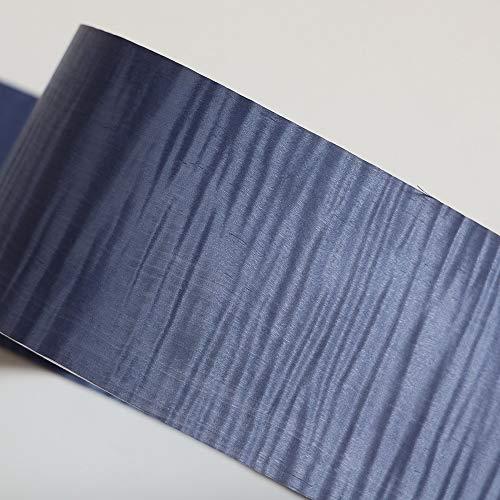 1pc Robusto Tamaño de arce teñido de madera chapas de material azul natural 250x15 Cm Chapa Tabla piel dormitorio Tabla Suelos de bricolaje Muebles ( Wood Diameter : 12 20cm , Wood Thickness : 0.45 )