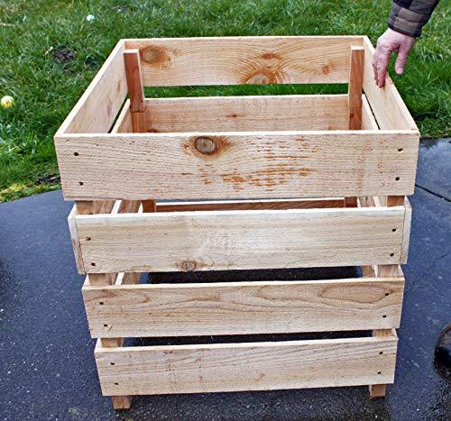 Fantastic Deal! Cedar Wood Compost Bin Stack-able