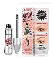 Gimme brow+ volumizing eyebrow Using short pressing motions, stroke the precision tip brush along your brows to define shape and add instant volume Comb through to blend and build natural-looking fullness Beauty tip: start your look with Benefit best...