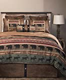 Carstens Backwoods 5 Piece Bedding Set, Queen