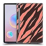 Head Case Designs Tigre De Corail Papiers Fous 2 Coque en Gel Doux Compatible avec Samsung Galaxy Tab S6 (2019)