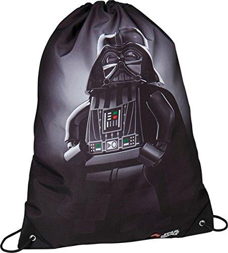 Lego Star Wars Luxus Sporttasche Kinder-Rucksack, Black