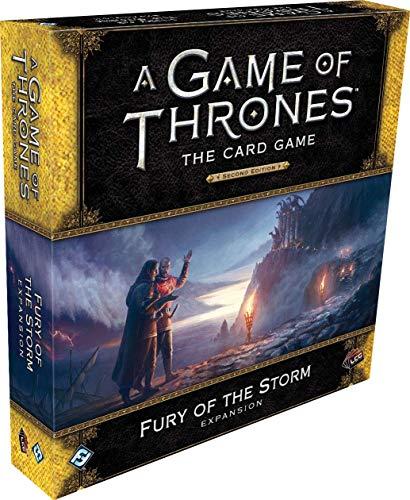 Fantasy Flight Games AGOT LCG 2ND Ed: Fury of The Storm Delux, Multicolor