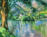 Kunstdruck/Poster: Paul Cézanne Lac d Annecy -