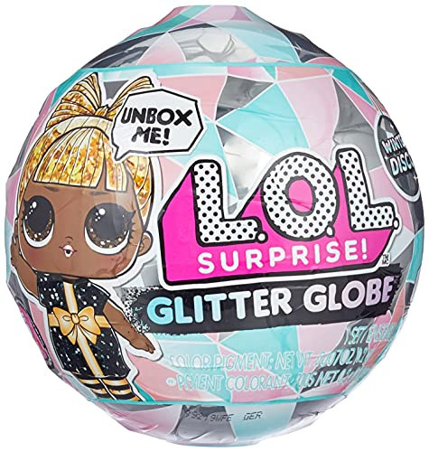 L.O.L. Surprise! Glitter Globe Doll Winter Disco Series with Glitter Hair