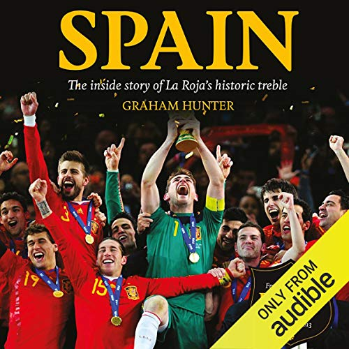Spain audiobook cover art