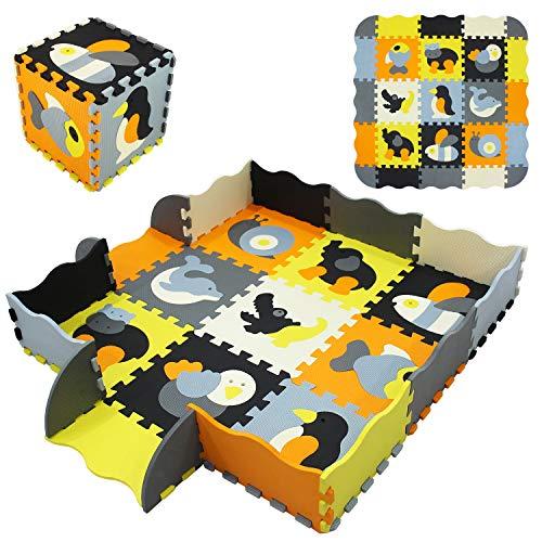 Yostrong 1.3M² / 9 Piece Puzzlematte Baby Groß Spielmatte Puzzle Baby Spielen Kann YP-14b9F16
