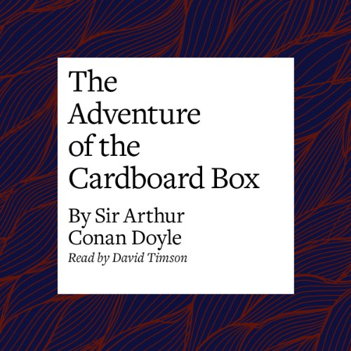 The Adventure of the Cardboard Box copertina