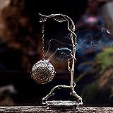 Stufa per aromaterapia - Bruciatore di incenso sospeso, stufa a legna di sandalo arrotolata, decorazione domestica di regali decorativi