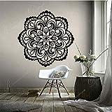 wZUN Creative Mandala Motif Autocollant Mural Vinyle décor à la Maison Salon Chambre canapé Fond décalcomanie 63X63 cm