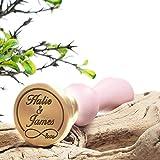Wedding Custom Wax Seal Stamp Kit with Flexible mailable Sealing Wax - Infinity Love