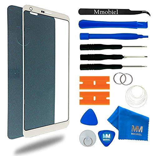 MMOBIEL Kit de Reemplazo Pantalla de Vidrio Compatible con LG G6 Series 5.7 Pulg. (Blanco) Incl. Herramientas