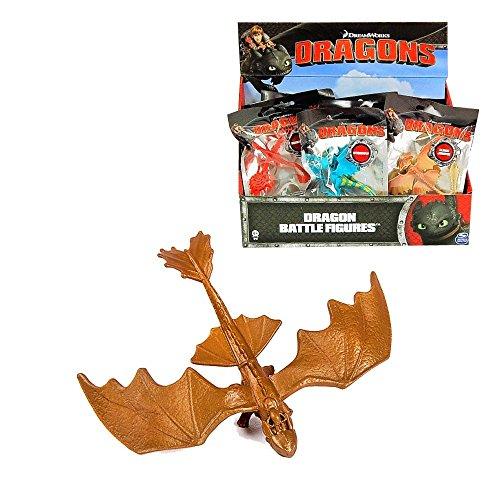 Dragons Auswahl Battle Mini | DreamWorks Mini Spielfiguren, Typ:Ohnezahn Gold