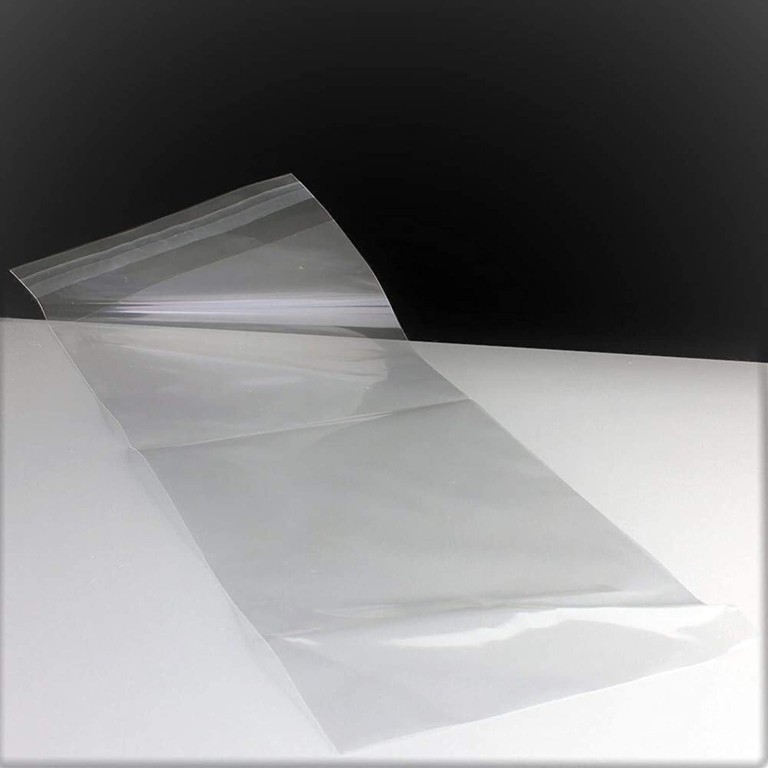 Clear Cellophane Bags SelfAdhesive Sealing Treat Bags OPP Plastic Bag for Candy, Soap, Cookie, Valentine 150x350mm 6x14  (2000)