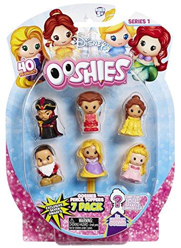 Ooshies 76481.0039 - Disney Princess Sammelfigur, 7er Pack, bunt