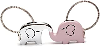 save elephant love keychain