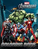 MARVEL Avengers Coloring Book: 33 Exclusive Illustrations for Kids and Adults. Captain America, Hulk, Iron Man, Doctor Strange, Thor, Spider-Man, Black Panther, Ant-Man, Loki and Others...