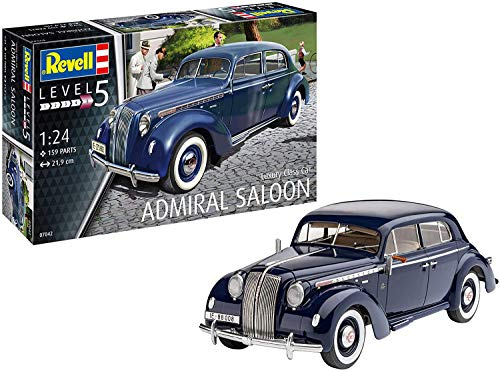 Revell RV07042 Luxury Class Car Admiral Saloon, Verschieden, 1:24 Scale