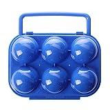 SODIAL(R) Portatiles de plastico plegable portador de huevos portador contenedor...