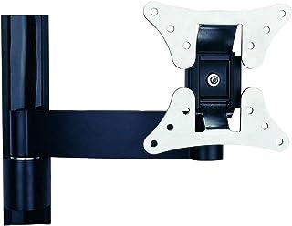 TradeMount Monitor wandhouder aluminium uittrekbaar van 7,3 cm tot 24,5 cm 12° kantelbaar 2 x 180 ° draaibaar voor Asus 2...