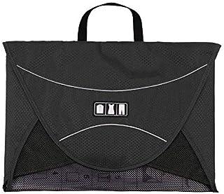 Travel Packing Organizer, BAGSMAR Packing Folder Carry on Garment Folder Wrinkle Free Luggage Organizer, Black