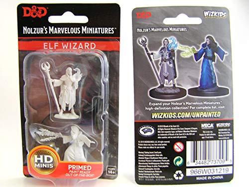 Dungeons & Dragons Nolzur's Unpainted Miniatures W9 Male Elf Wizard Figure