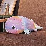 MKZHANG 37-46-58cm Coloridos Juguetes de Peluche de Dinosaurio de Peluche, muñeco de Juguete Gigante de algodón Relleno para niños, Pastillas Suaves, 37cm, Morado
