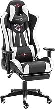 play haha. Ergonomische Gaming Stoel Racing Stijl Bureaustoel met Grotere Hoge Rugleuning en kussen Grotere armleuning (wi...
