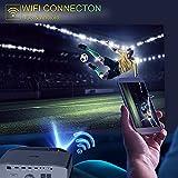 Recensione 2 Proiettore Wifi Bluetooth 10000 Lumen