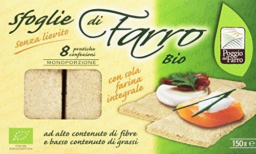 Farro - Sfoglie, con Sola Farina Integrale - 150 g 8 confezioni