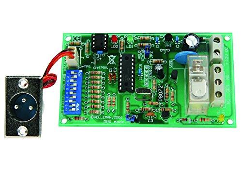 VELLEMAN - K8072 DMX-Steuerung LED Relais 840394
