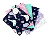 The Craft Cotton Fat Quarter Stoffpaket Taube (6 Stücke á