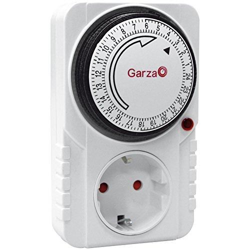 clasificación y comparación Temporizador analógico Garza 400600, blanco para casa