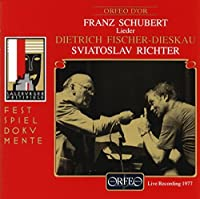 Schubert - Lieder by Dietrich Fischer-Dieskau (1993-07-21)