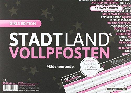 STADT LAND VOLLPFOSTEN® - GIRLS EDITION