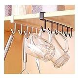 Albeey 1 Stück Unter Regal Tassenhalter Schrankeinsatz Küchenhelfer Tasse Halterung