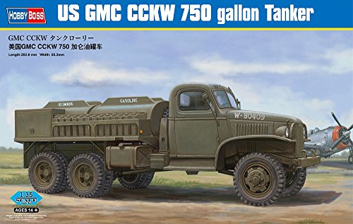 Hobbyboss 1:35 - US GMC CCKW 750 gallon Tanker Version