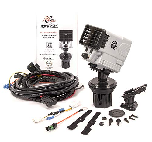 TSI Products, INC SCC7702 Climate Caddy 48V Electric Golf Cart Heater and Fan with Permanent Mount Kit