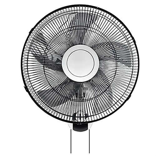 WJY 16 Pulgadas Ventilador de Pared, 3 Velocidades, Funcionamiento Silencioso, ángulo Ajustable, Ventilador Eléctrico Oscilante/Giratorio, Refrigeración para el Verano en el Hogar, la Oficina