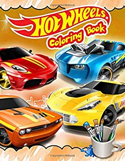 Hot Wheels Coloring Book: Hot Wheels Jumbo Coloring Book With Premium Images For All Ages