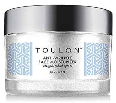 Glycolic Acid Creme 10% Face Moisturiser. Best Alpha Hydroxy Acid Products for Night & Day; Anti Ageing Moisturiser - Exfoliating, Anti-Wrinkle Lotion with AHA for Acne Prone Skin; Natural Exfoliator