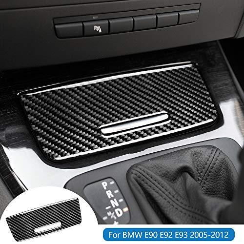 AIRSPEED for BMW 3 Series E90 E92 E93 Accessories Carbon Fiber Car Storage Box Panel Cover Stickers Interior Trim