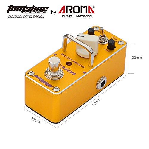 Tom'sline Engineering PLEXION APN-3, Pedal de efecto de distorsión, recreación de 70-80 Marshall amplificador de tono con 2 modos de pedal de guitarra brillante y normal
