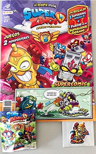EDIBA Revista Oficial Superzings Nº 9. Series 5.