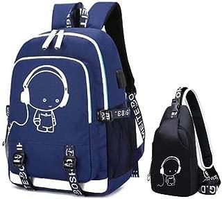 Men Waterproof Travel Laptop Backpack School Bags